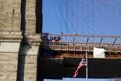 Parco 46 del ponte di Brooklyn Immagini Stock