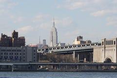 Parco 47 del ponte di Brooklyn Fotografie Stock Libere da Diritti
