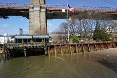 Parco 206 del ponte di Brooklyn Fotografia Stock Libera da Diritti