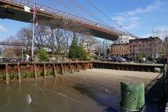 Parco 205 del ponte di Brooklyn Fotografia Stock