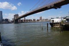Parco 204 del ponte di Brooklyn Immagine Stock