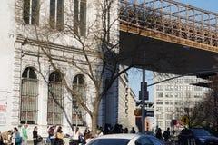 Parco 201 del ponte di Brooklyn Immagini Stock