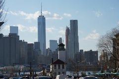 Parco 200 del ponte di Brooklyn Fotografie Stock Libere da Diritti