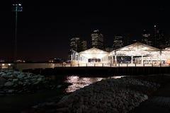 Parco 62 del ponte di Brooklyn Fotografia Stock