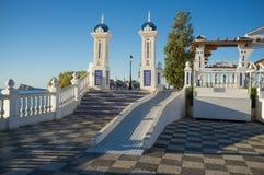 Parco del punto di riferimento di Benidorm Fotografia Stock Libera da Diritti