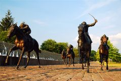 Parco del purosangue, Lexington Immagine Stock Libera da Diritti