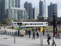 Parco del Roundhouse, Toronto, Canada Fotografia Stock