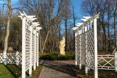 Parco del ` s dello scrittore Irpin l'ucraina Fotografia Stock