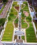 Parco del tetto Immagine Stock Libera da Diritti
