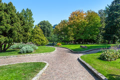 Parco del Valentino in Turin, Italy. Royalty Free Stock Image