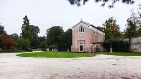 Parco dell Arena with Scrovegni Chapel in Padua Stock Photo