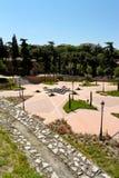 Parco dell'emiro Mohamed I a Madrid immagine stock libera da diritti
