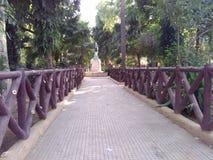 Parco dell'entrata Fotografie Stock