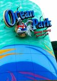 Parco dell'oceano Immagine Stock