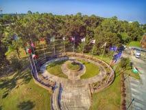 Parco della bandiera dello stato immagini stock libere da diritti