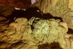 Parco della caverna del fiume di Camuy Fotografie Stock Libere da Diritti