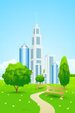 Parco della città Immagine Stock Libera da Diritti