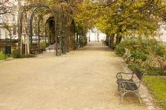 Parco della città Immagine Stock