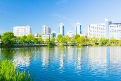 Parco della città di Stavanger immagini stock libere da diritti
