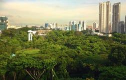 Parco della città di Toa Payoh Immagine Stock Libera da Diritti