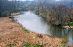Parco della contea del fiume di Galien fotografie stock libere da diritti