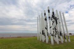 Parco della memoria a Buenos Aires, Argentina immagini stock