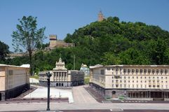 Parco della Mini-Bulgaria in Veliko Tarnovo Fotografia Stock