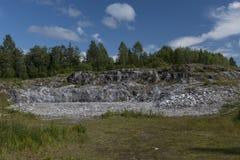 Parco della montagna Fotografie Stock Libere da Diritti