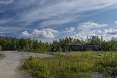 Parco della montagna Fotografia Stock