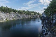 Parco della montagna Fotografie Stock