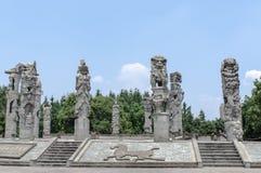 Parco della pietra di Deyang Fotografia Stock Libera da Diritti
