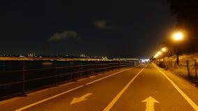 Parco della riva del fiume Immagine Stock