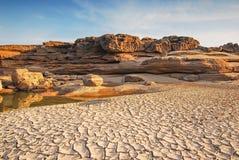 Parco della roccia di 3000 Boke Immagini Stock