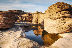 Parco della roccia di 3000 Boke Fotografia Stock Libera da Diritti