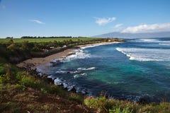 Parco della spiaggia del Ho'okipa di Maui Fotografia Stock