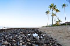 Parco della spiaggia di Hauula Immagini Stock Libere da Diritti