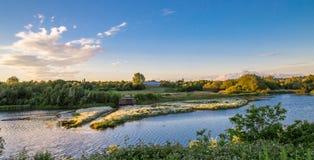 Parco della valle di Sanwell Fotografia Stock