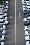 Parco delle automobili Fotografie Stock