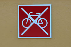 Parco delle bici severo! Fotografia Stock Libera da Diritti