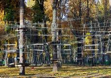 Parco delle corde Immagini Stock Libere da Diritti
