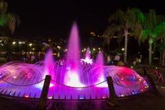 Parco delle fontane di Damlatas - di Alanya Immagini Stock Libere da Diritti