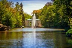 Parco dendrological nazionale & x22; Sofiyivka& x22; , Uman, Ucraina Sofiyivka è un punto di riferimento scenico di progettazione Fotografie Stock