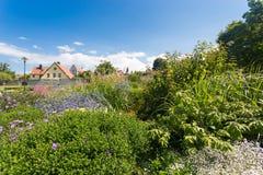 Parco di Almedalen in Visby, Gotland, Svezia Immagini Stock Libere da Diritti