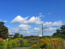 Parco di Amaliehaven, Copenhaghen, Danimarca fotografie stock libere da diritti