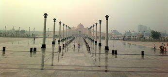 Parco di Ambedkar, Lucknow (India) fotografia stock libera da diritti