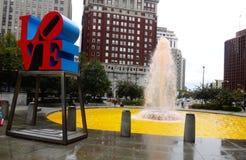 Parco di amore Immagini Stock Libere da Diritti