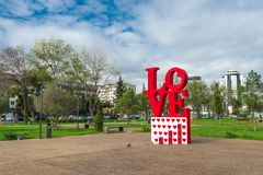 Parco di amore e della gioventù immagine stock