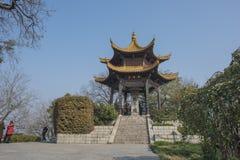 Parco di Angeles del sorso di Nanchino Fotografie Stock Libere da Diritti