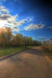 Parco di autunno Immagine Stock