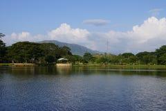Parco di avventura, vista del monuntain Fotografia Stock Libera da Diritti